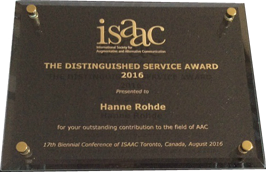 Isaac Distinguished Service Award 2016 Hearing Products